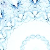 μπλε floral ελεύθερη απεικόνιση δικαιώματος