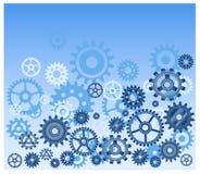 μπλε ggears Στοκ φωτογραφία με δικαίωμα ελεύθερης χρήσης