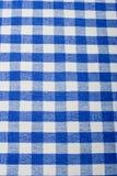 μπλε gingham Στοκ φωτογραφία με δικαίωμα ελεύθερης χρήσης