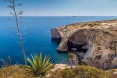 Μπλε Grotto Μάλτα στοκ φωτογραφία με δικαίωμα ελεύθερης χρήσης