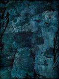 μπλε grunge ανασκόπησης Στοκ Φωτογραφίες