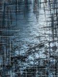 Μπλε grunge crosshatch στοκ εικόνα με δικαίωμα ελεύθερης χρήσης
