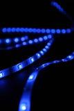 Μπλε leds Στοκ φωτογραφία με δικαίωμα ελεύθερης χρήσης