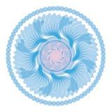 μπλε mandala Στοκ Φωτογραφία