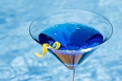 μπλε martini λίμνη Στοκ εικόνες με δικαίωμα ελεύθερης χρήσης