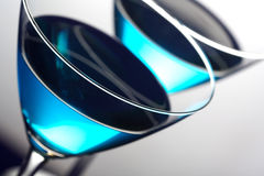 μπλε martini Στοκ Εικόνα