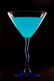 Μπλε Martini Στοκ φωτογραφία με δικαίωμα ελεύθερης χρήσης