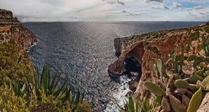 μπλε ouside της Μάλτας grotto στοκ εικόνα με δικαίωμα ελεύθερης χρήσης