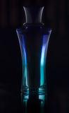 μπλε parfume Στοκ εικόνα με δικαίωμα ελεύθερης χρήσης