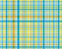 μπλε plaid παραλιών ελεύθερη απεικόνιση δικαιώματος