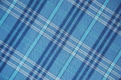 μπλε plaid προτύπων Στοκ φωτογραφία με δικαίωμα ελεύθερης χρήσης