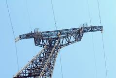 μπλε pylon ουρανός ηλεκτρική& Στοκ εικόνες με δικαίωμα ελεύθερης χρήσης