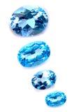 μπλε saphires Στοκ Εικόνες