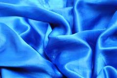μπλε sateen Στοκ Φωτογραφίες