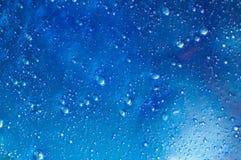 Μπλε slime με τις αεροφυσαλίδες μέσα στοκ φωτογραφία με δικαίωμα ελεύθερης χρήσης