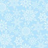 μπλε snowflakes προτύπων ελεύθερη απεικόνιση δικαιώματος