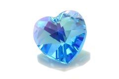 μπλε swarovski Στοκ Εικόνα