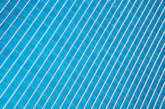 Μπλε Windows γραφείων Στοκ φωτογραφία με δικαίωμα ελεύθερης χρήσης