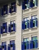 μπλε Windows στοκ φωτογραφίες με δικαίωμα ελεύθερης χρήσης