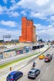 ΜΠΟΓΚΟΤΑ, ΚΟΛΟΜΒΙΑΣ - 22 ΟΚΤΩΒΡΙΟΥ, 2017: Υπαίθρια άποψη της λεωφόρου Ελ Ντοράντο στην πόλη της Μπογκοτά Στοκ φωτογραφίες με δικαίωμα ελεύθερης χρήσης