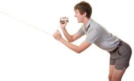 μπορέστε έφηβος φωνάζει Στοκ φωτογραφίες με δικαίωμα ελεύθερης χρήσης