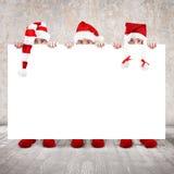 μπορέστε να λαναρίσετε τους φίλους Χριστουγέννων που χαιρετούν την προαιρετική δυνατότητα νύχτας διακοπών στις επιθυμίες γράφει Στοκ Εικόνες