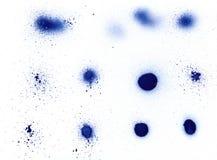 μπορέστε να σχεδιάσετε elem splatter τον ψεκασμό Στοκ Εικόνες