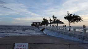 Μπορέστε παραλία gio στοκ φωτογραφία με δικαίωμα ελεύθερης χρήσης