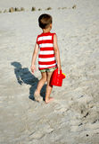 μπορέστε πότισμα παιδιών Στοκ Φωτογραφία