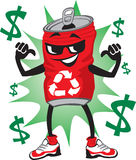 μπορέστε χαρακτήρας ανακύ& απεικόνιση αποθεμάτων
