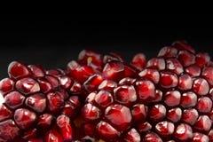 μπορέστε χοληστερόλη να κλείσετε χαμηλότερη μακρο σπόροι ροδιών που αυξάνονται superfoods Στοκ φωτογραφία με δικαίωμα ελεύθερης χρήσης