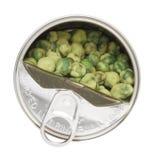 μπορέστε wasabi μπιζελιών Στοκ Φωτογραφία