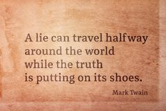 Μπορεί να ταξιδεψει Twain στοκ εικόνες με δικαίωμα ελεύθερης χρήσης