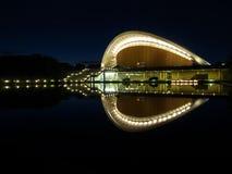 Μπορντούρα Βερολίνο Kulturen Haus der der Στοκ Εικόνες