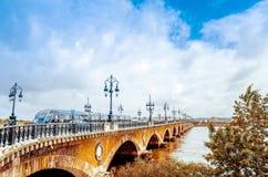 Μπορντώ, Γαλλία Ευρώπη Στοκ εικόνες με δικαίωμα ελεύθερης χρήσης