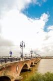 Μπορντώ, Γαλλία Ευρώπη Στοκ φωτογραφία με δικαίωμα ελεύθερης χρήσης