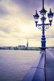 Μπορντώ, Γαλλία Ευρώπη Στοκ Φωτογραφίες