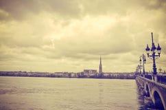 Μπορντώ, Γαλλία Ευρώπη Στοκ Φωτογραφία