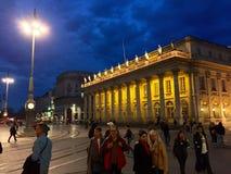 Μπορντώ, Γαλλία Στοκ φωτογραφία με δικαίωμα ελεύθερης χρήσης