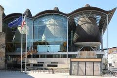 Μπορντώ, νουβέλα aquitaine/Γαλλία - 09 02 2018: tribunal de grande η περίπτωση στο Μπορντώ Γαλλία σημαίνει το ανώτατο δικαστήριο  στοκ φωτογραφία με δικαίωμα ελεύθερης χρήσης