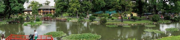 ΜΠΟΥΕΝΟΣ ΆΙΡΕΣ, στις 13 Ιανουαρίου 2016 - ιαπωνικοί κήποι του Μπουένος Άιρες Στοκ Εικόνες
