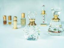 Μπουκάλια, αραβικές διαφορετικές μορφές αρώματος Στοκ Εικόνα