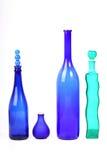 μπουκάλια ζωηρόχρωμα Στοκ φωτογραφία με δικαίωμα ελεύθερης χρήσης