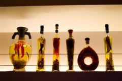 μπουκάλια ι ράβδων Στοκ Εικόνες