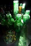 μπουκάλια κενά Στοκ φωτογραφία με δικαίωμα ελεύθερης χρήσης