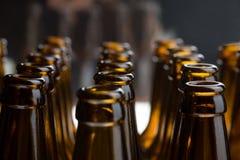 μπουκάλια μπύρας Στοκ Φωτογραφίες