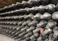 μπουκάλια παλαιά Στοκ Εικόνα