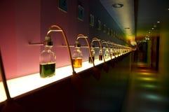μπουκάλια που χρωματίζονται στοκ εικόνα με δικαίωμα ελεύθερης χρήσης