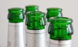 μπουκάλια πράσινα Στοκ εικόνες με δικαίωμα ελεύθερης χρήσης