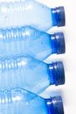 μπουκάλια τέσσερα πλαστικό Στοκ Φωτογραφία